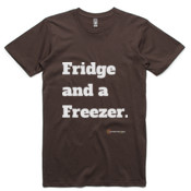 Brisbane Broncos - All Time 'Fridge and a Freezer' - T-Shirt - AS Colour -  - AS Colour - Staple Tee