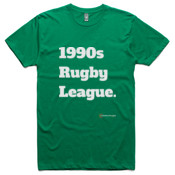 NRL - All Time '1990s Rugby League' - Slim T-Shirt - AS Colour - Slim Tee - - AS Colour - Slim Fit Paper Tee
