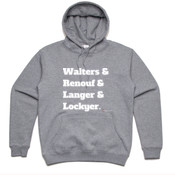 Brisbane Broncos - All Time Walters & Renouf & Langer & Lockyer Throwback Jumper -